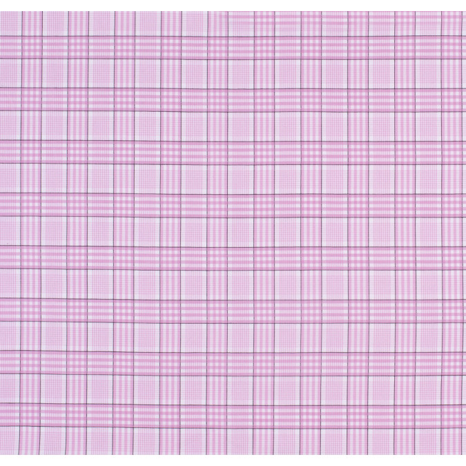 pink black checkered cotton shirting 303720 11