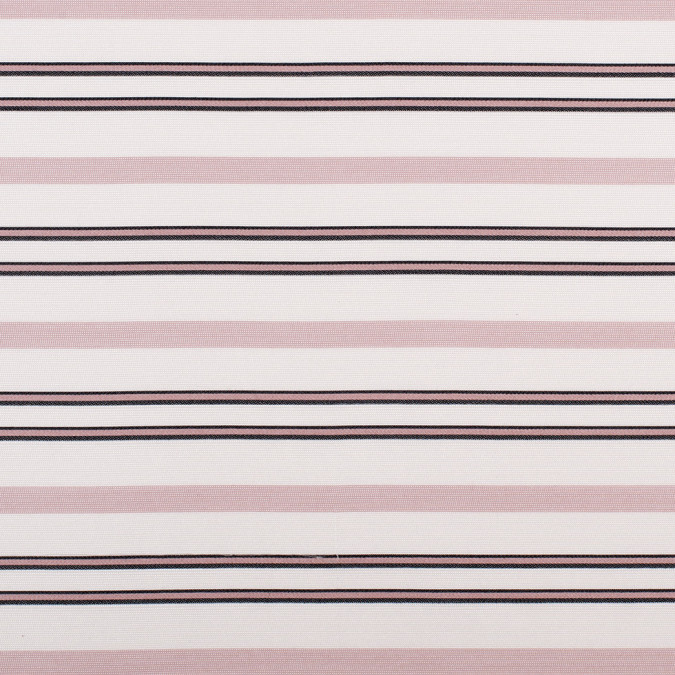 pink black striped silk woven 308172 11