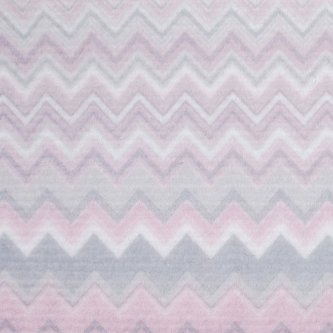 pink ivory zig zag missoni like brushed wool coating 302491 11