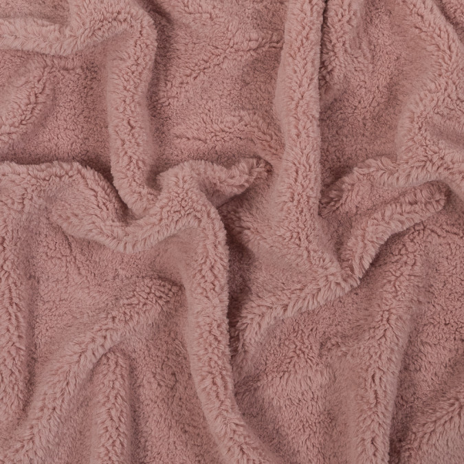 pink short pile faux fur 317802 11