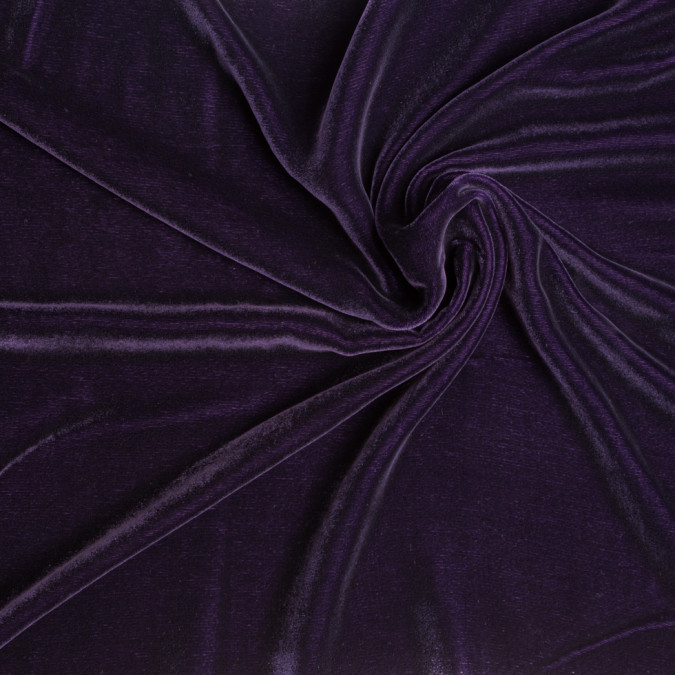 plum soft rayon silk velvet 309350 11