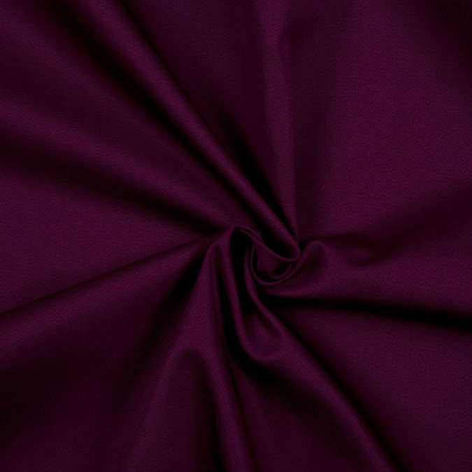plum solid organic cotton twill fc8703 11