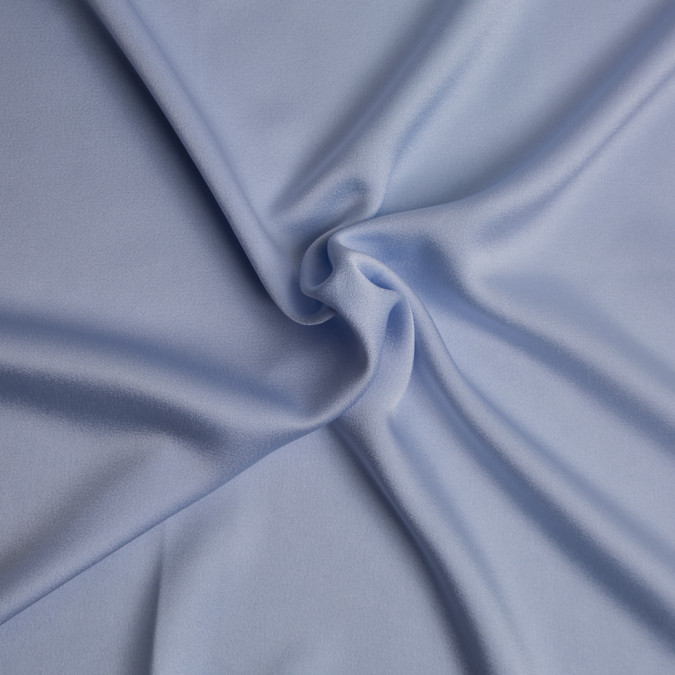 powder blue acrylic viscose crepe back satin 309261 11