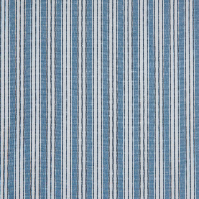 powder blue bijou blue white shadow striped cotton shirting 310887 11