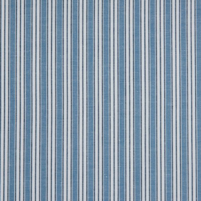 powder blue bijou blue white shadow striped cotton shirting 310887 11