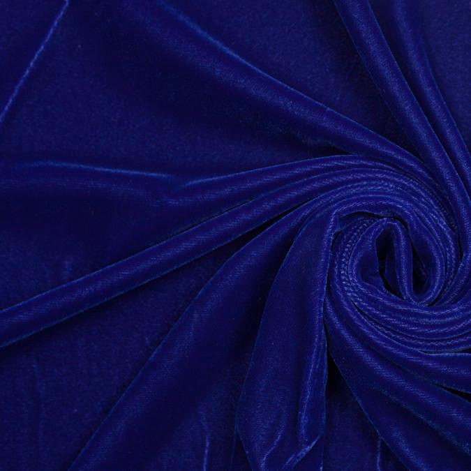 primary blue polyester micro velvet 307168 11