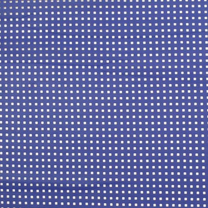 primary blue solid vinyl with perforated squares 306000 11