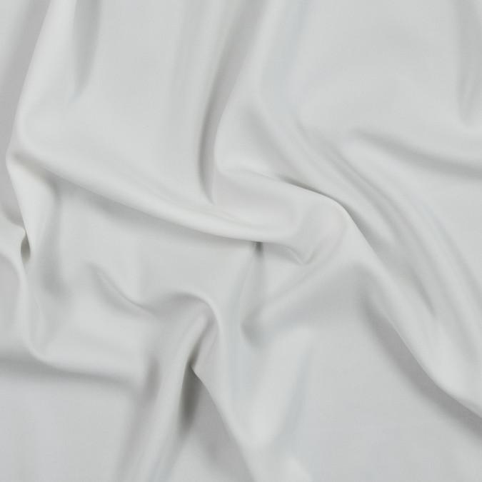 pristine white stretch heavy silk crepe 319704 11