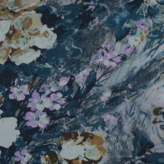 purple blue beige and green watercolor floral silk chiffon 319659 11