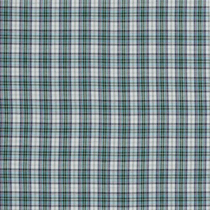 purple blue haze and green plaid japanese cotton woven 318886 11