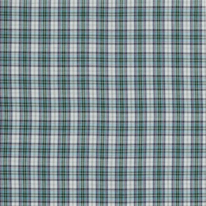 purple blue haze and green plaid japanese cotton woven 318886 11