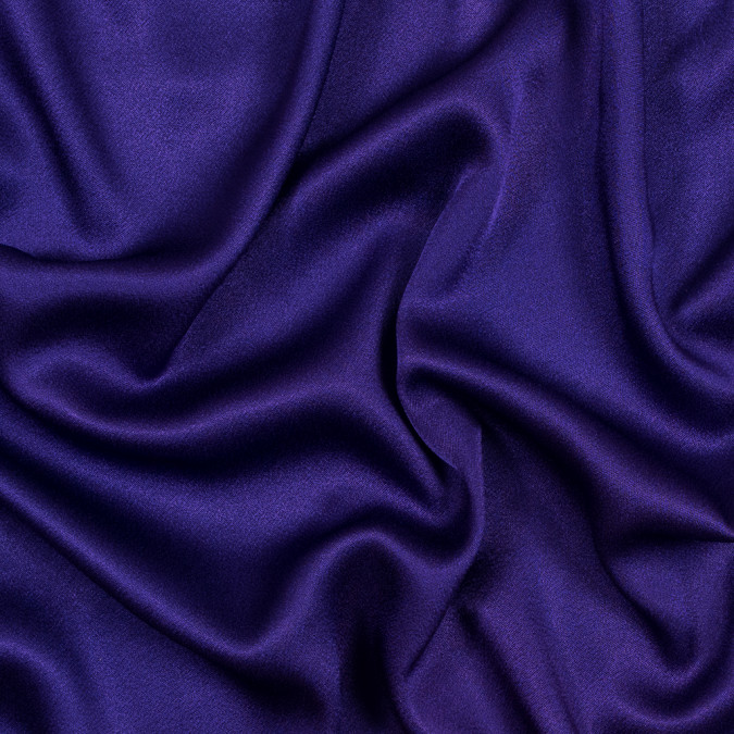 purple crepe back satin 317388 11