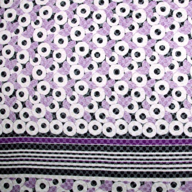 purple floral silk chiffon panel print fs20820 11