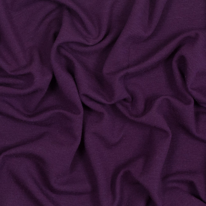 purple stretch wool double knit 318939 11
