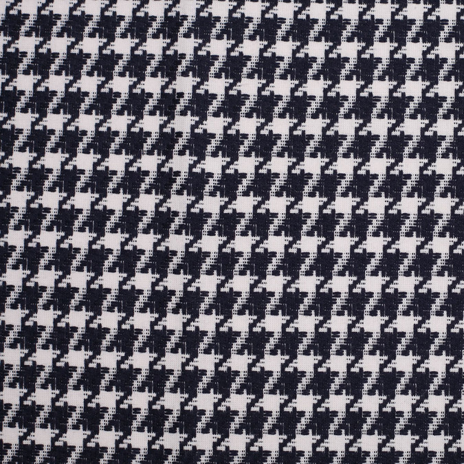 rag and bone navy white houndstooth cotton woven 306830 11