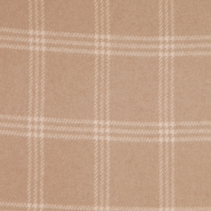 ralph lauren camel blonde plaid cashmere coating fw25435 11