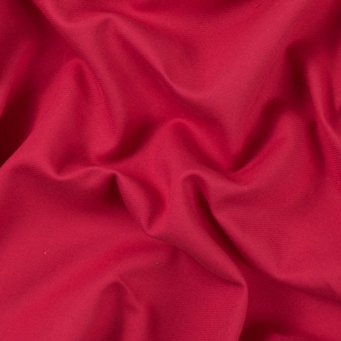 raspberry double faced cotton serge twill 308909 11