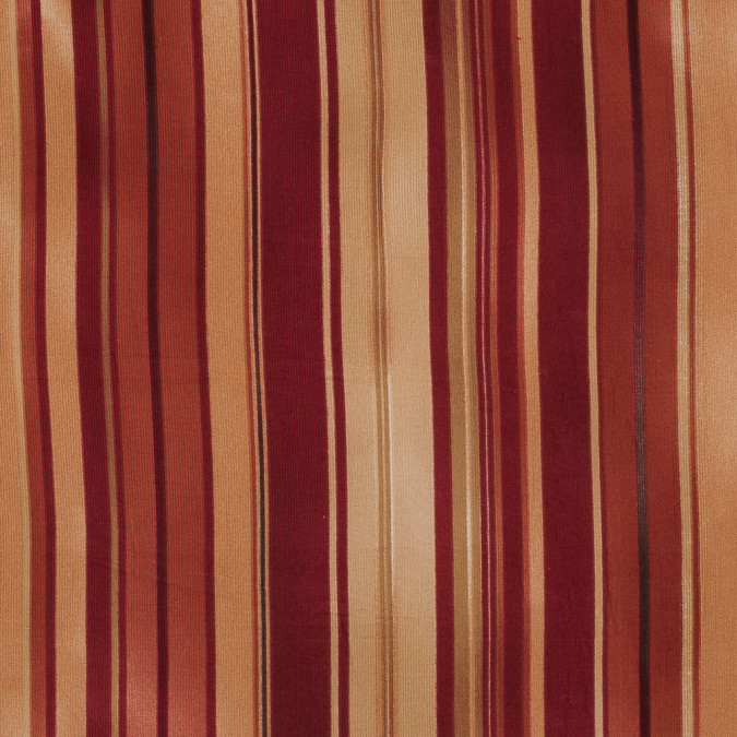 red yellow and orange barcode striped cotton corduroy 318916 11