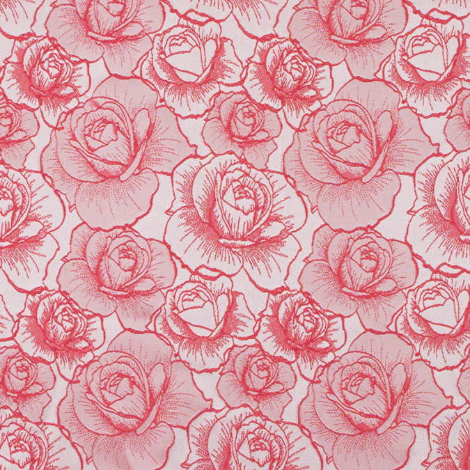 red 3d rose jacquard 316044 11