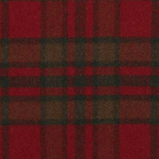 red and green plaid wool coating 317246 11