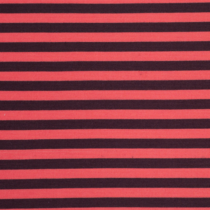 red and orange striped polyester blended ponte de roma 107910 11