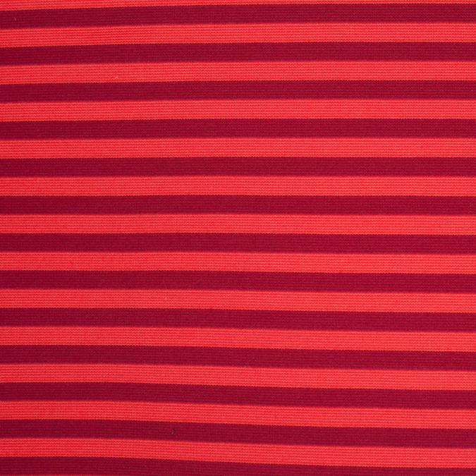 red and orange striped polyester blended ponte de roma 107918 11