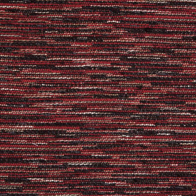 red black gold blended wool tweed 310045 11