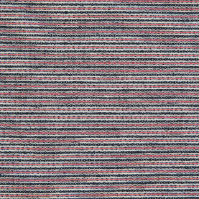 red black white raised stripes on a stretch cotton woven 310578 11