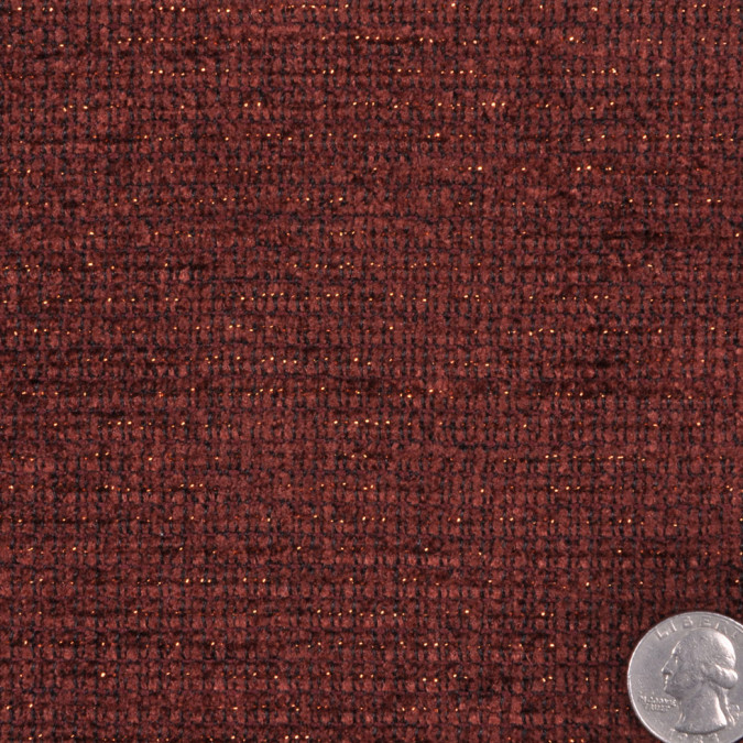 red brown gold solid chenille fw12033 11