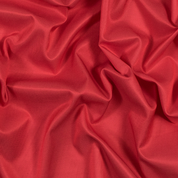 red coral blended rayon twill with give 318995 11