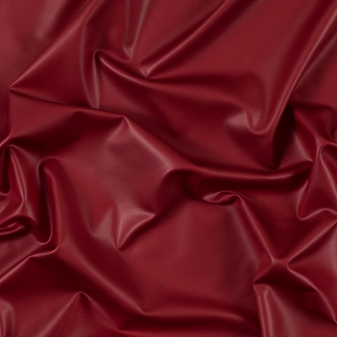 red dull all over foil knit pleather substitute 312787 11