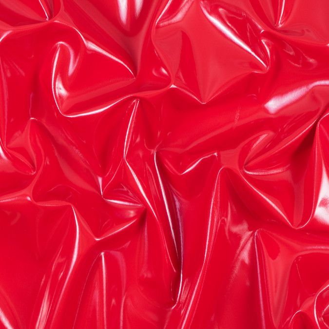 red glossy stretch imitation latex 113468 11