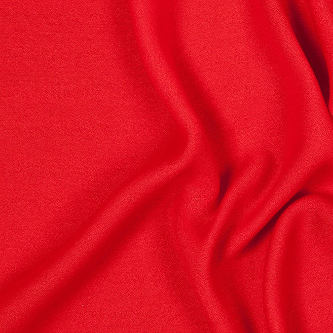 red lightweight polyester crepe 303919 11
