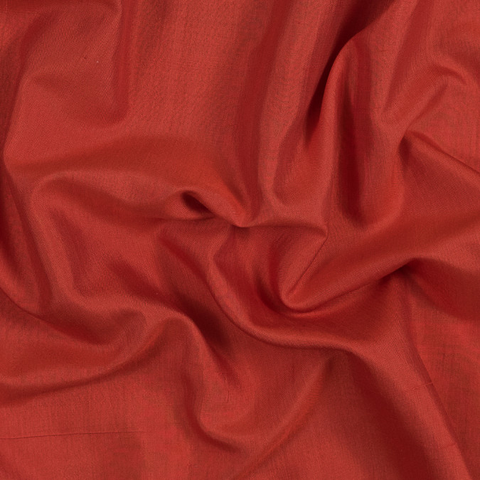 red orange fine silk woven 319658 11