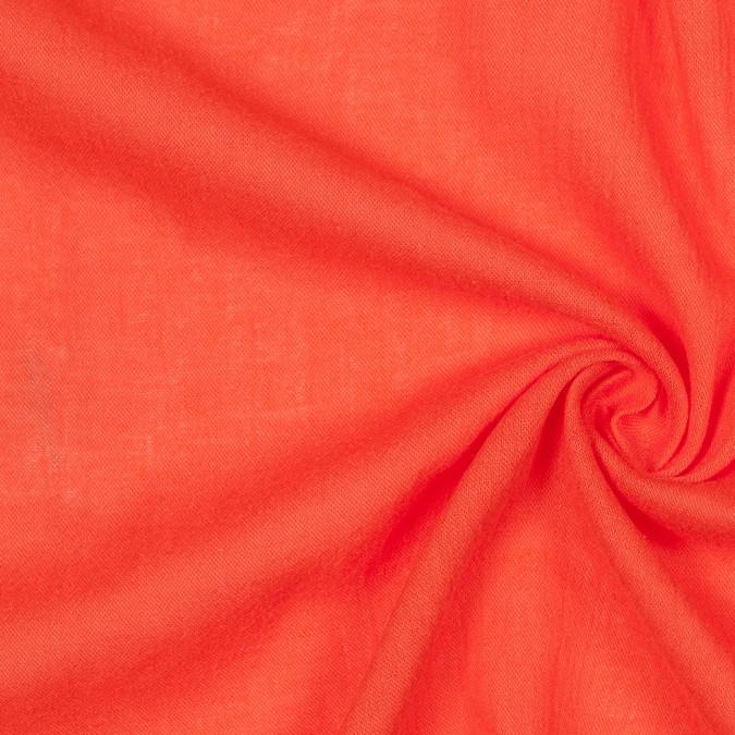 red orange lightweight cotton gauze 303802 11