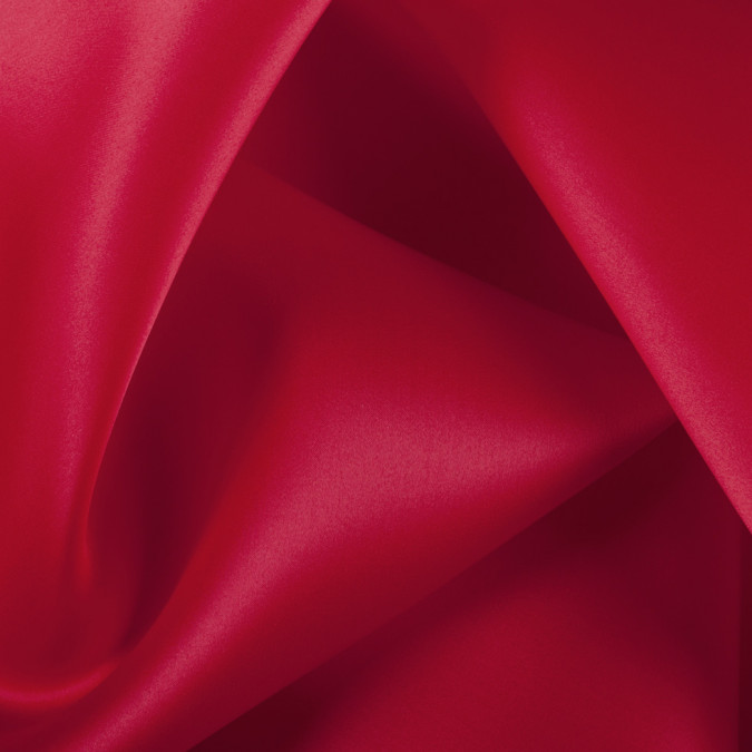 red silk satin face organza pv4000 167 11