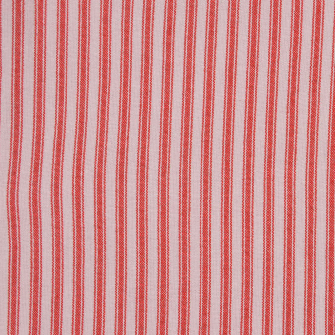 red ticking stripe cotton seersucker fc12935 11