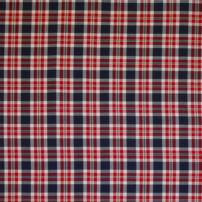 red white blue tartan plaid cotton flannel 308631 11