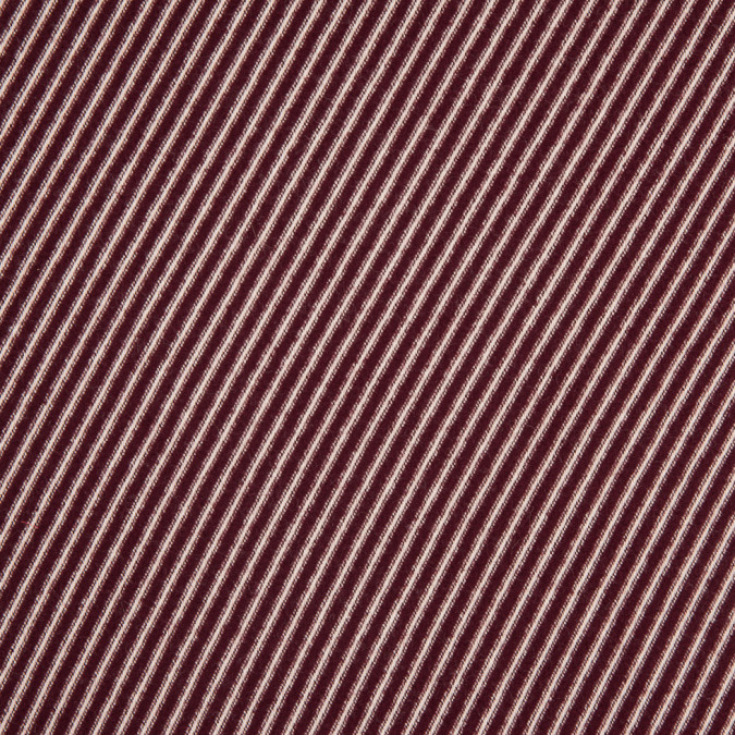 reversible burgundy angora raised regimental striped cotton twill 310580 11