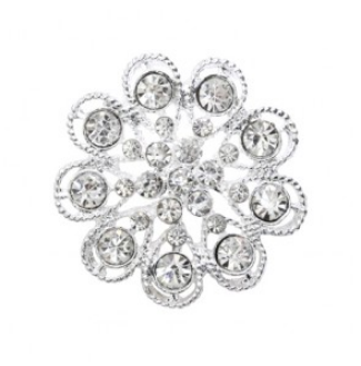 rhinestone button 120206