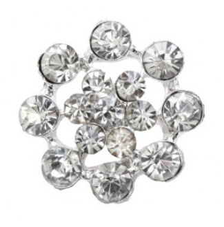 rhinestone button 120210