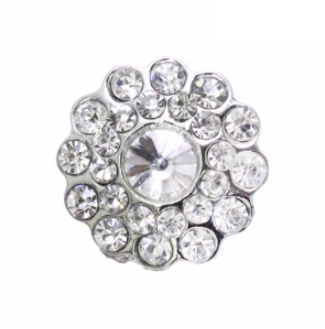 rhinestone button 120212