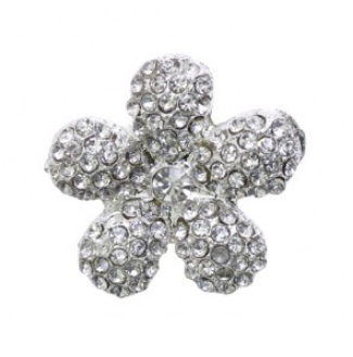 rhinestone button 120215