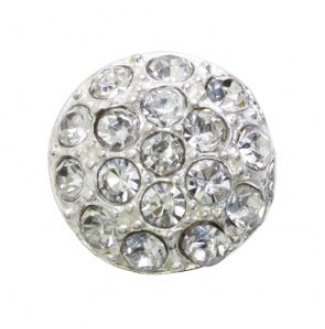 rhinestone button 120226