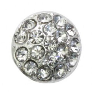 rhinestone button 120227