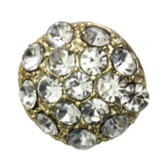 rhinestone button 120230