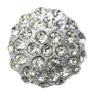 rhinestone button 120235