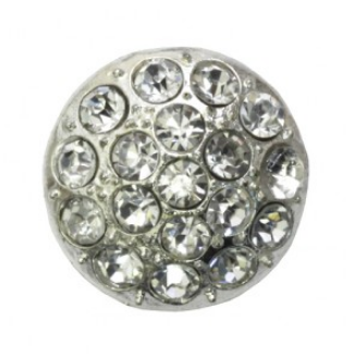 rhinestone button 120236