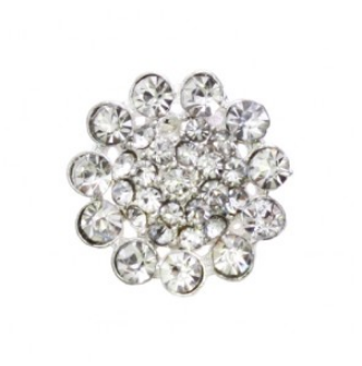 rhinestone button 120242