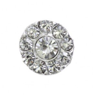 rhinestone button 120244